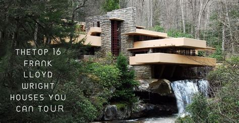 Custom Floor Plans top 16 frank lloyd wright houses you can tour
