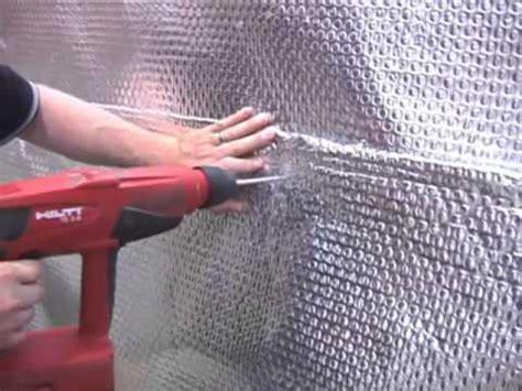 basement wall waterproofing conserve 97 heat loss youtube