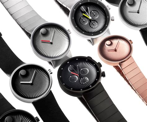 design milk watches yves b 233 har designs new watch collection for movado
