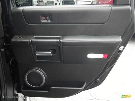Hummer H2 Interior Door Panel 2007 Hummer H2 Suv Black Door Panel Photo 68321006 Gtcarlot