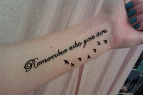 bird tattoo quotes tumblr remember who you are tattoo ideas pinterest to be