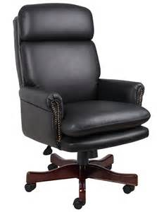 Best Desk Chair Pillow B850 Bk Traditional Pillow Top Executive Office