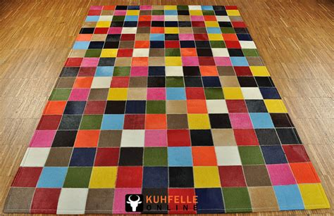 teppiche bunt kuhfell teppich bunt 180 x 120 cm kuhfelle nomad
