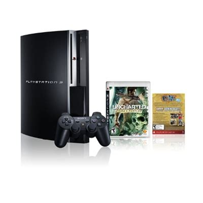 Ps3 160 Gb Port 4 Usb sony playstation 3 ps3 uncharted s fortune limited edition gaming console 160gb