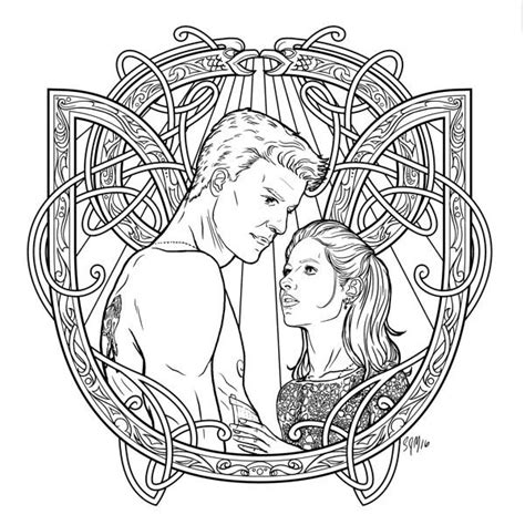 buffy coloring book 06 daily dead
