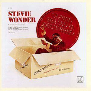 signed sealed delivered i m yours stevie wonder