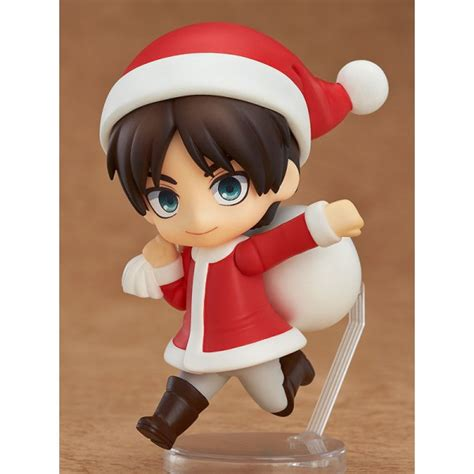 Nendoroid Attack On Titan Eren Yeager eren yeager nendoroid petit santa version includes
