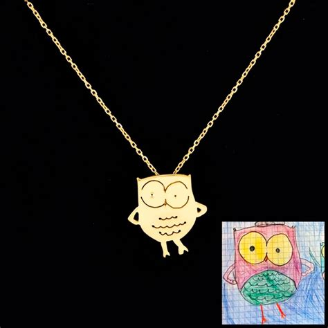 into jewelry turn your children s drawings into jewelry ufunk net