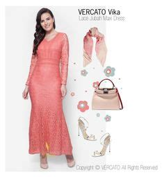 90821 Baju Muslim Syari 2 Orange Maxi Dress Baju Kebaya Lace Vercato Ella In Navy Blue Gambar