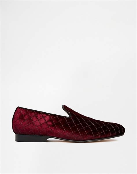 house of hounds shoes house of hounds house of hounds whitman velvet quilt dress slippers at asos