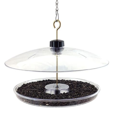 covered platform bird feeder cpf droll yankees