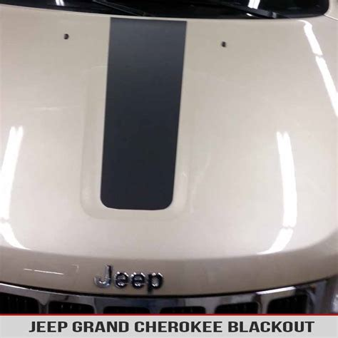 jeep grand blackout blackout vinyl decal for jeep wk2 11 17