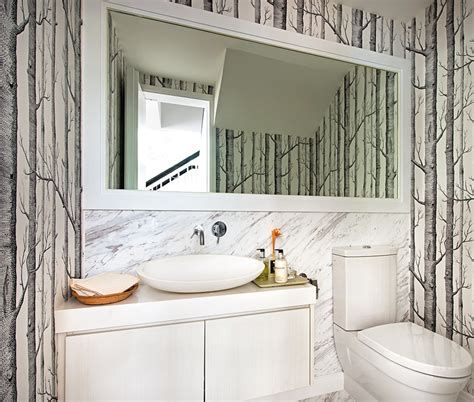 can i wallpaper a bathroom can i use wallpaper in my bathroom home decor singapore