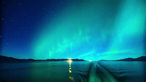 northern lights stock footage northern lights coast stock footage 8814388
