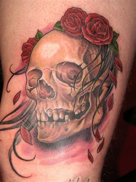 skull with rose tattoo skull tattoos designs ideas and meaning tattoos for you