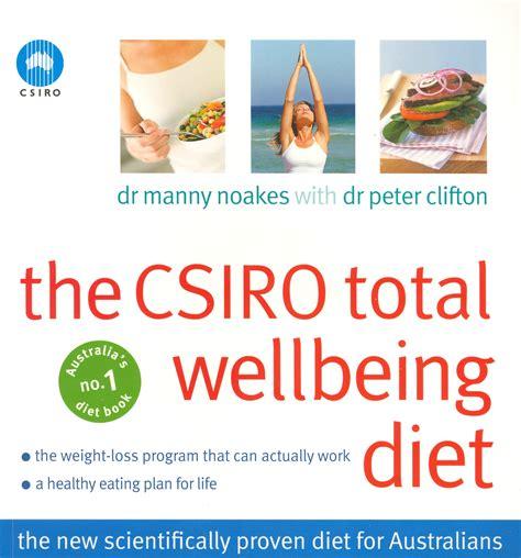 well being books the csiro total wellbeing diet penguin books australia