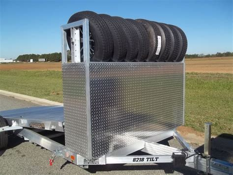 Tire Rack For Trailer by 46 Best Images About Aluminum Trailers On Tilt