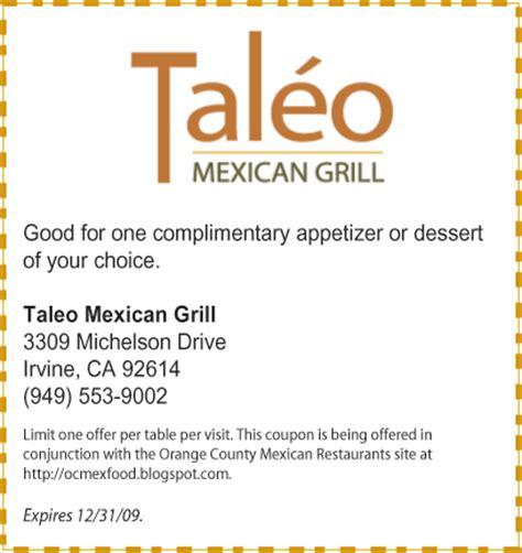 printable restaurant coupons jacksonville fl free printable coupons la salsa cantina 9jasports