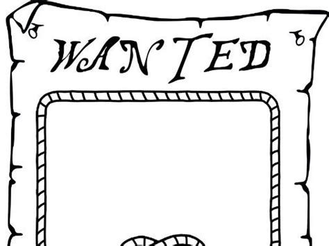pirate wanted poster template by darkwaterarts teaching