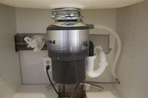 Unique Garbage Disposal Install?   DoItYourself.com