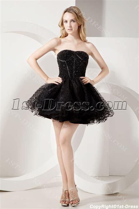 black sweet beaded black short sweet 16 gown 1st dress com