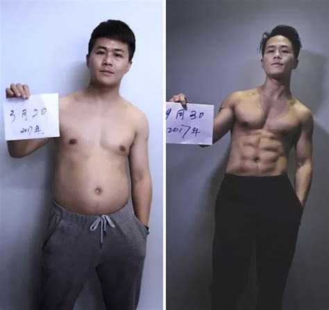 weight loss 6 months before and after family spends 6 months working out and here are