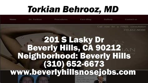 beverly hills md youtube torkian behrooz md reviews beverly hills ca cosmetic