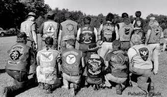 biker colors pulsating paula 1970s 1980s biker mc colors new jersey