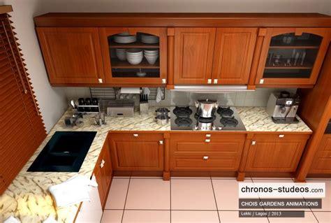 Kitchen Pictures In Nigeria 3d Visualization By Chronos Studeos Chois Gardens Lekki