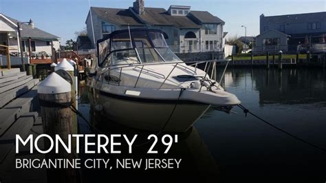 used cruiser boats for sale nj for sale used 1996 monterey 276 cruiser in brigantine