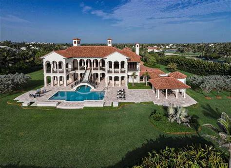 Home Plans Florida by A Look At 3 Lavish Waterfront Mansions For Sale In Stuart