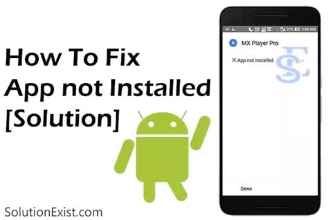 how to install some apk files which shows app not installed when i installed normally quora
