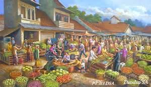 lukisan cantik keren top indonesia lukisan keren cantik dan indah favorit anda selebritis