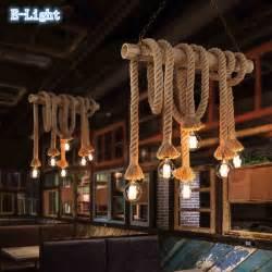hanging lights for room vintage rope pendant lights l loft creative personality
