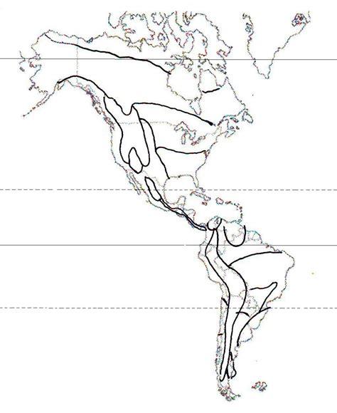 america mapa de climas climas de america