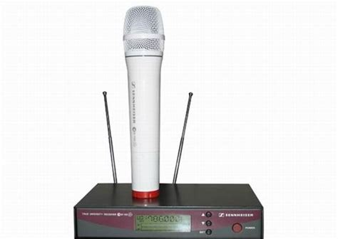 Mic Sennheiser 135 G2 Single Mic sennheiser ew135 ew100 g2 wireless microphone system ew135 g2 branco