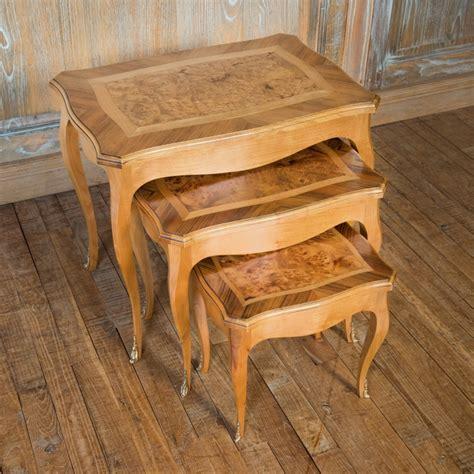 table gigogne table gigogne louis xv style louis xv ateliers allot