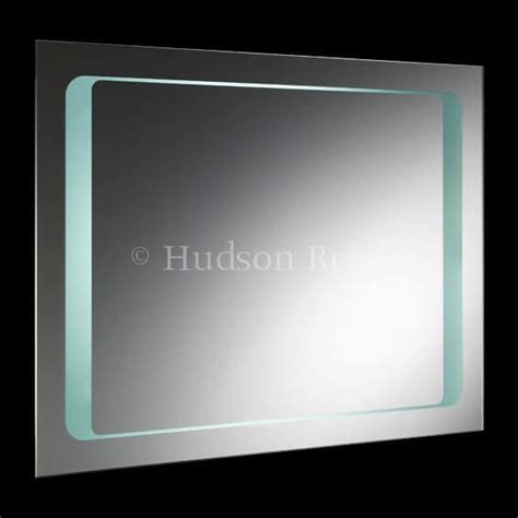hudson reed bathroom mirrors hudson reed insight backlit mirror with motion sensor