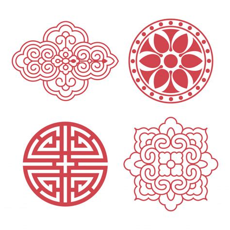 traditional design elements vector korean traditional design elements vector premium download