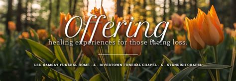 ramsay funeral home rivertown funeral chapel