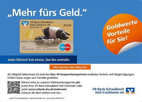 vr bank sha banking details