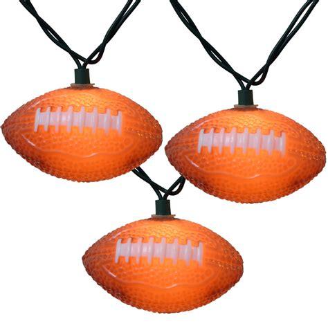 football lights bunch o footballs string lights