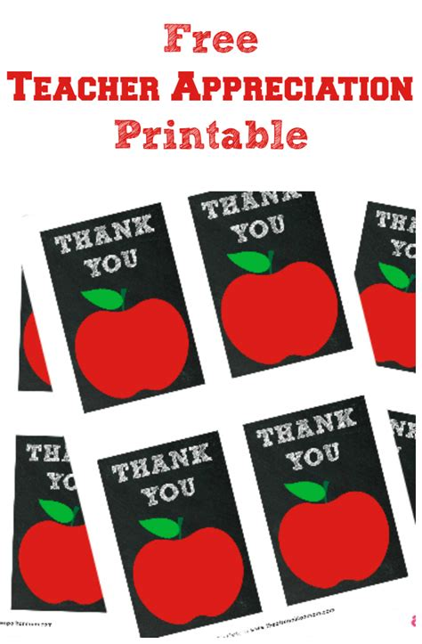 Free Appreciation Printables