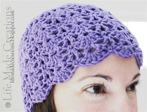 pattern crochet chemo cap life made creations crocheted chemo cap