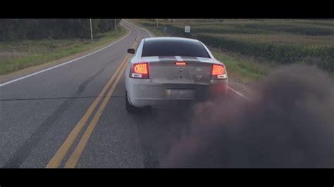 cummins charger rolling coal in the duramax camaro and cummins charger