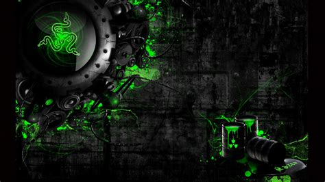 green wallpaper video games photo collection green razer gaming wallpaper background