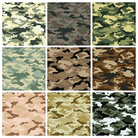 camouflage seamless background vector dragonartz designs