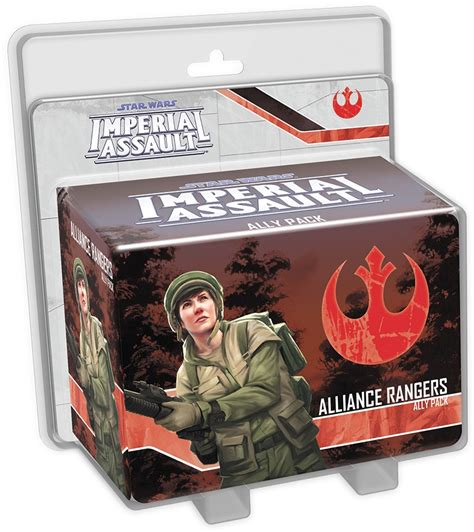 Imperial Assault Deployment Card Template by Paizo Wars Imperial Assault Alliance Rangers