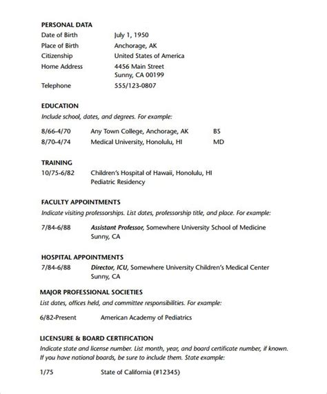 doctor resume templates doctor resume template pdf tanweer ahmed