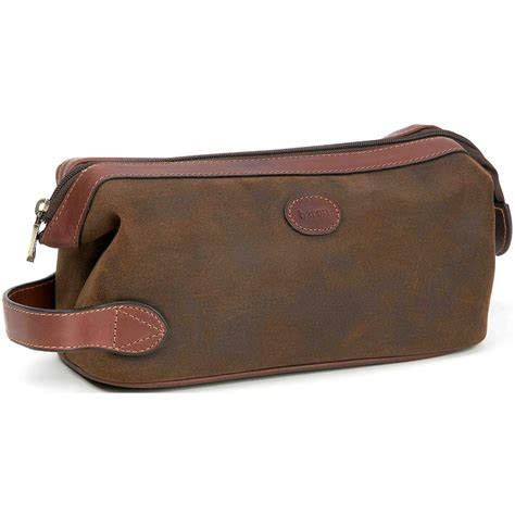 Toiletry Bag baron country 174 suede leather toiletry bag 209121 travel accessories at sportsman s guide